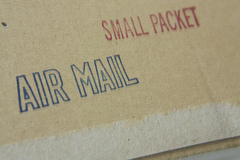 International postal services allow consumers to buy products from all over the world.