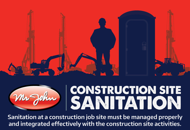 Solve all your construction site's sanitation needs with help from the temporary sanitation experts at Mr John.