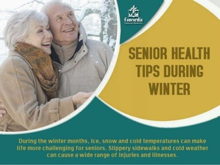 Concordia Provides Wintertime Health Tips for Seniors in Latest Slideshow
