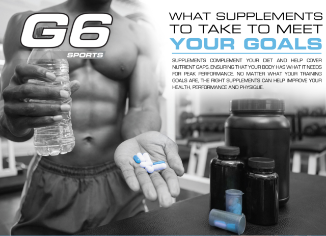 Energize your workout and unlock your body's true potential with the sports nutrition supplements from G6 Sports.