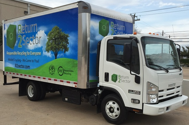 R2Sector Will Come to Your Organization, School or Neighborhood for Free Onsite E-cycling of Old Electronics