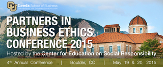 CU-Boulder's Leeds School of Business to host groundbreaking international conference on ethics