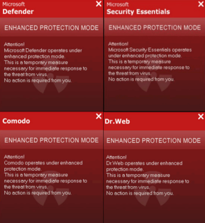 New Line of 'Enhanced Protection Mode' Fake Anti-virus Apps Using Names of Legit Security Apps: Comodo, Micros…