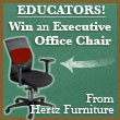 HERTZ FURNITURE LAUNCHES BACK TO SCHOOL IN COMFORT SWEEPSTAKES