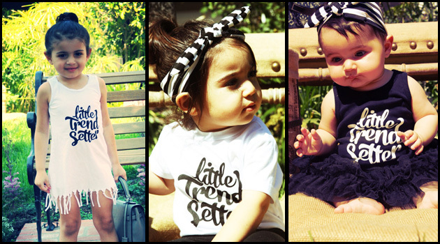 LITTLE TRENDSETTER ONLINE KIDS CLOTHING IS EXCITED TO ANNOUNCE THE LAUNCH OF THEIR OWN PERSONAL CLOTHING LINE