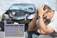 Louisville personal injury attorney Hal Cooper has about 20 years experience as a car accident lawyer and personal injury lawyer. For info, call 502-459-7555. THIS IS AN ADVERTISEMENT.