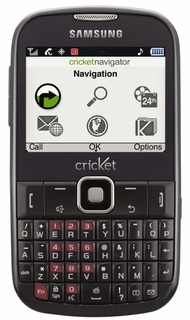Cricket Enhances its Messaging Phone Line-Up with the Samsung Comment™