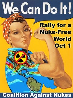 COALITION AGAINST NUKES RALLY FOR NUCLEAR-FREE ENERGY Oct. 1, NYC and NATIONWIDE