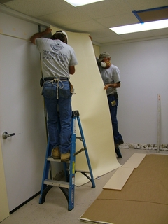 Hillsborough Community College Installs Acoustiblok-Wallcover to Quiet Video and Audio Recording Room Used for Creating …