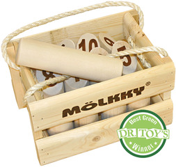 World Favorite Outdoor Game, Mölkky, Earns Eco-Toy Award