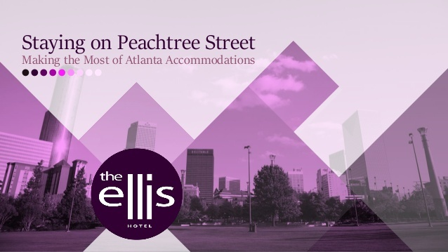 Discover all the advantages of staying on historic Peachtree Street in downtown Atlanta with help from The Ellis Hotel.