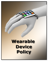 Wearable Device Policy added to the IT Infrastructure Policy Bundle Released by Janco
