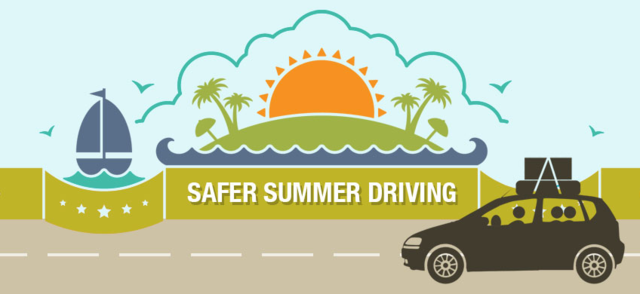 Stay safer on the roads this summer with help from Covelli Law Offices.