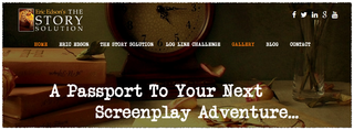 The Story Solution Launches New Website For Screenwriters
