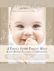 The Christian Baby Outlines What You Need to Know Before Planning Your Child's Christening