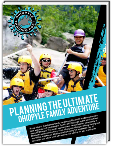 If an outdoor adventure is what you're after, take a trip to Ohiopyle, Pa for endless rafting, hiking, biking and other adventure opportunities.