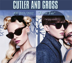 "Cutler and Gross Sunglasses ""Frost Fair"" Collection at Eyegoodies.com"