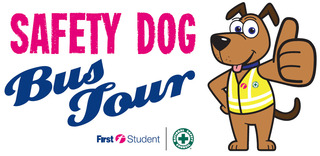 First Student and the National Safety Council Kick Off the Safety Dog Bus Tour