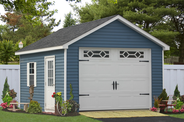 One Car Prefab Car Garages: Storage Sheds And Outbuildings Builder In PA Releases All
