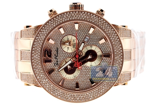 Designer Diamond Watches by Joe Rodeo at 24diamonds.com