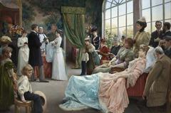 The Baptism by Julius LeBlanc Stewart (Paris 1892, LACMA)