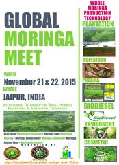 Program: 3rd Global Moringa Meet: 2 days International Moringa Production & Application Workshop on 21 – 22 No…
