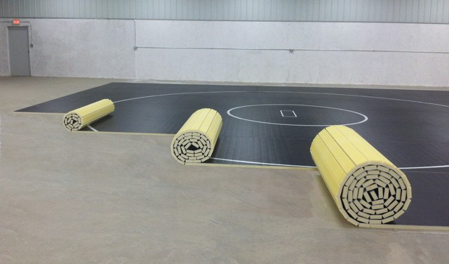 Roll Out Wrestling Mats