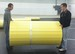 Roll Out Mats are easily rolled up, stored, transferred by two people and eliminate the need for expensive storage systems!