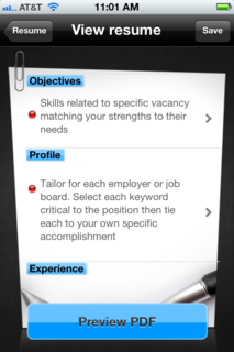 AdvancingWomen.com, Award Winning Career Site, Launches 2WayResume, Iphone App