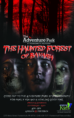 "Adventure Park at Frankenmuth to Stage ""Haunted Forest of Bavaria"" Friday & Saturday Nights in October 201…"