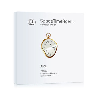 SpaceTimeAgent - A Different Personal Organizer: Because mind has ever had two clocks