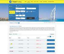 Travel Trolley Flights Page
