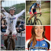 Cyclocross athletes Kaitie Antonneau and Katie Compton are participating in a panel discussion and Q/A session with youth athletes hosted by Dr. Stacie Grossfeld.