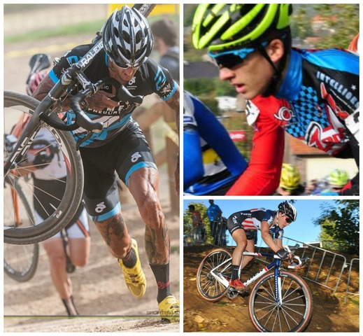 Cyclocross athletes Ben Berden, Gavin Haley and Katie Compton are among a handful of athletes participating in a panel discussion for youth athletes hosted by Dr. Stacie Grossfeld.