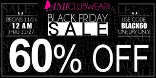 "AMIClubwear.com Black Friday and Cyber Monday 2015 Sales Officialy Released $2 Heels $5 Dresses $7 Boots ""We Will L…"