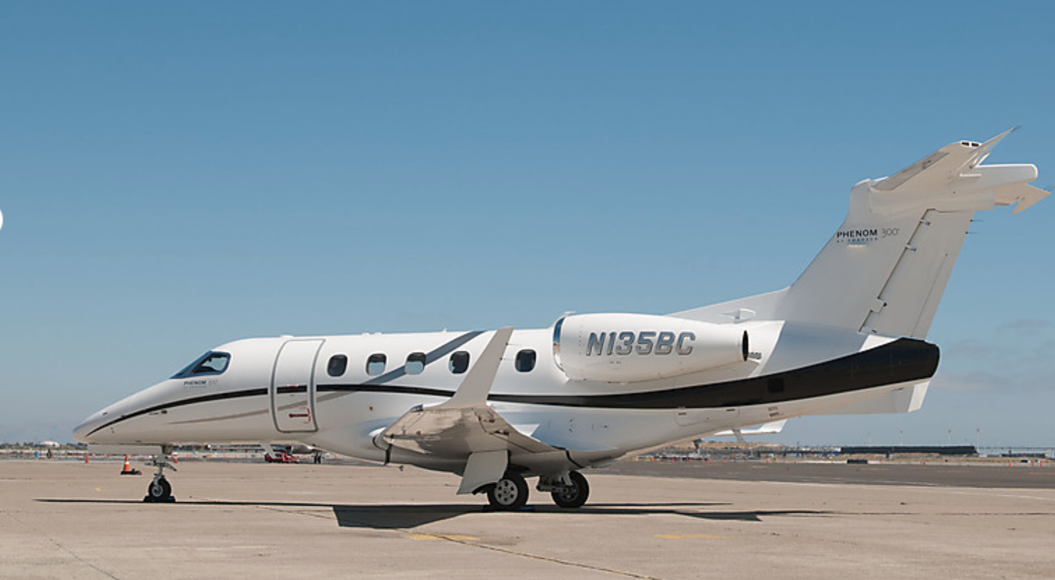 Private Aircraft Charter Pacific Coast Jet Moves Phenom 300 To Mineta San Jos