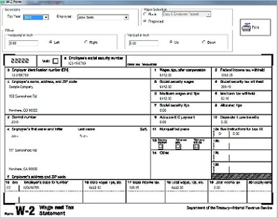 ezPaycheck payroll software supports form 941, 940, W2 and W3