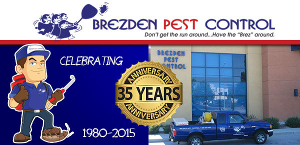 Brezden Pest Control Celebrates 35th Year in Business
