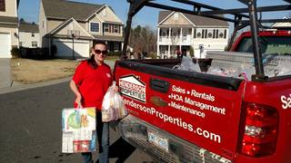 Henderson Properties Participated in Annual Food Drive