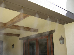Koolfog Recommends Incorporating Misting Systems in the Design Phase to Help Builders Set Themselves Apart From the Comp…