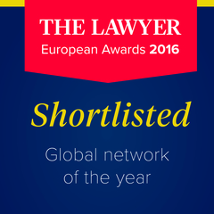 International Lawyers Network Shortlisted for The Lawyer's Law Firm Network of the Year Award