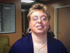 Debbie Lewis, Permanente Housing Locator for Atlantic City Rescue Mission