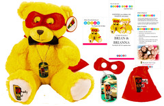 Brian, the Ready Set Go Superhero Bear and Therapy Kit