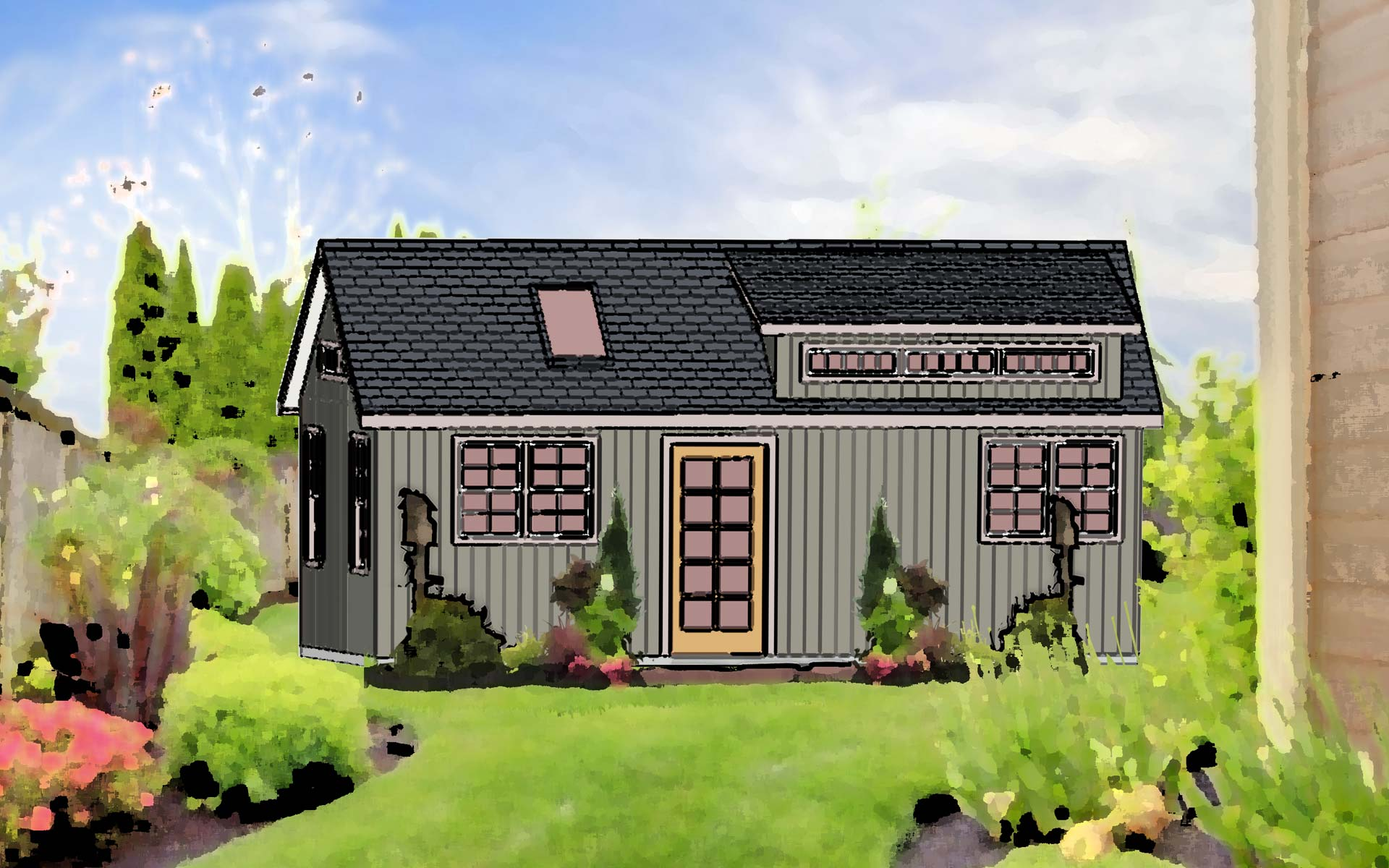 New Models Of Sheds For Sale In Pa Turn Backyard Sheds Into Tiny