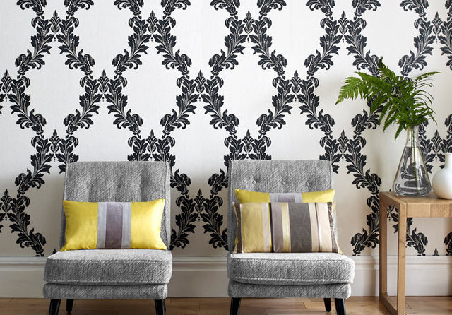 Designer wallpaper company graham brown launch new for Luxury wallpaper companies