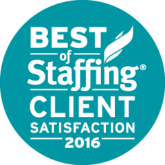 Frontline Source Group Nationwide Staffing Agency wins Inavero's Best of Staffing® Client and Talent Awards 201…