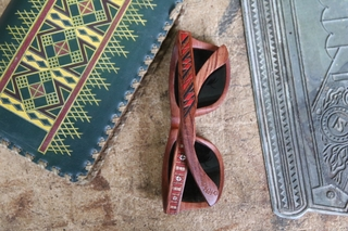 New Venture In Brooklyn: Hand Carved Wood Sunglasses From Ukraine
