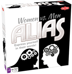 There's an Alias for Everyone; Tactic Games Adds New Women vs. Men Alias Game