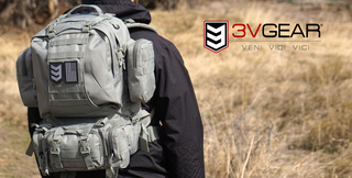 3V Gear Releases New Paratus 3-Day Operator's Pack in Grey