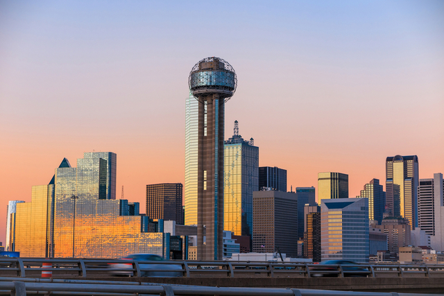 Nationwide reports show home prices for Dallas are topping the market.